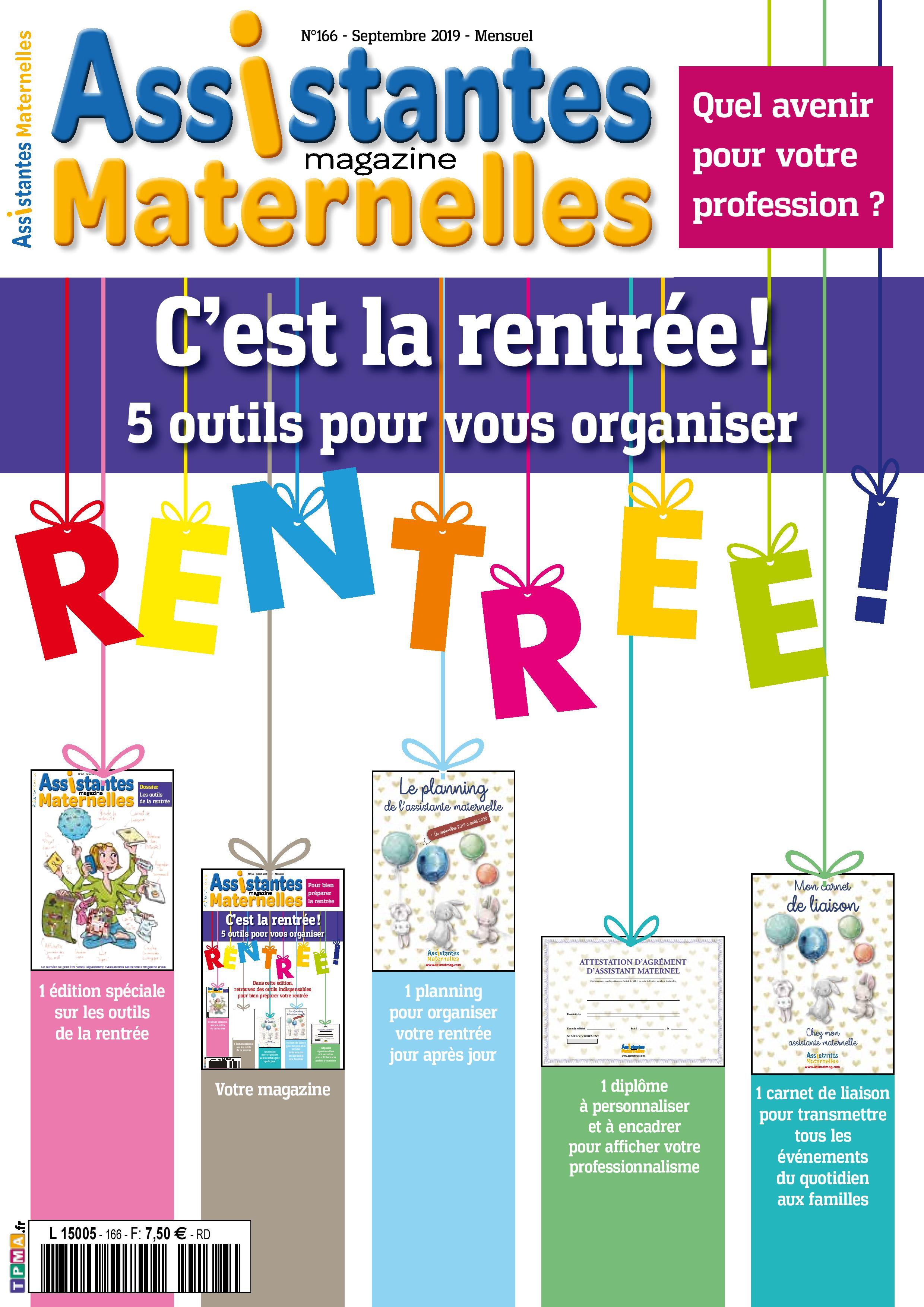 assistantes maternelles magazine - n u00b0166-167