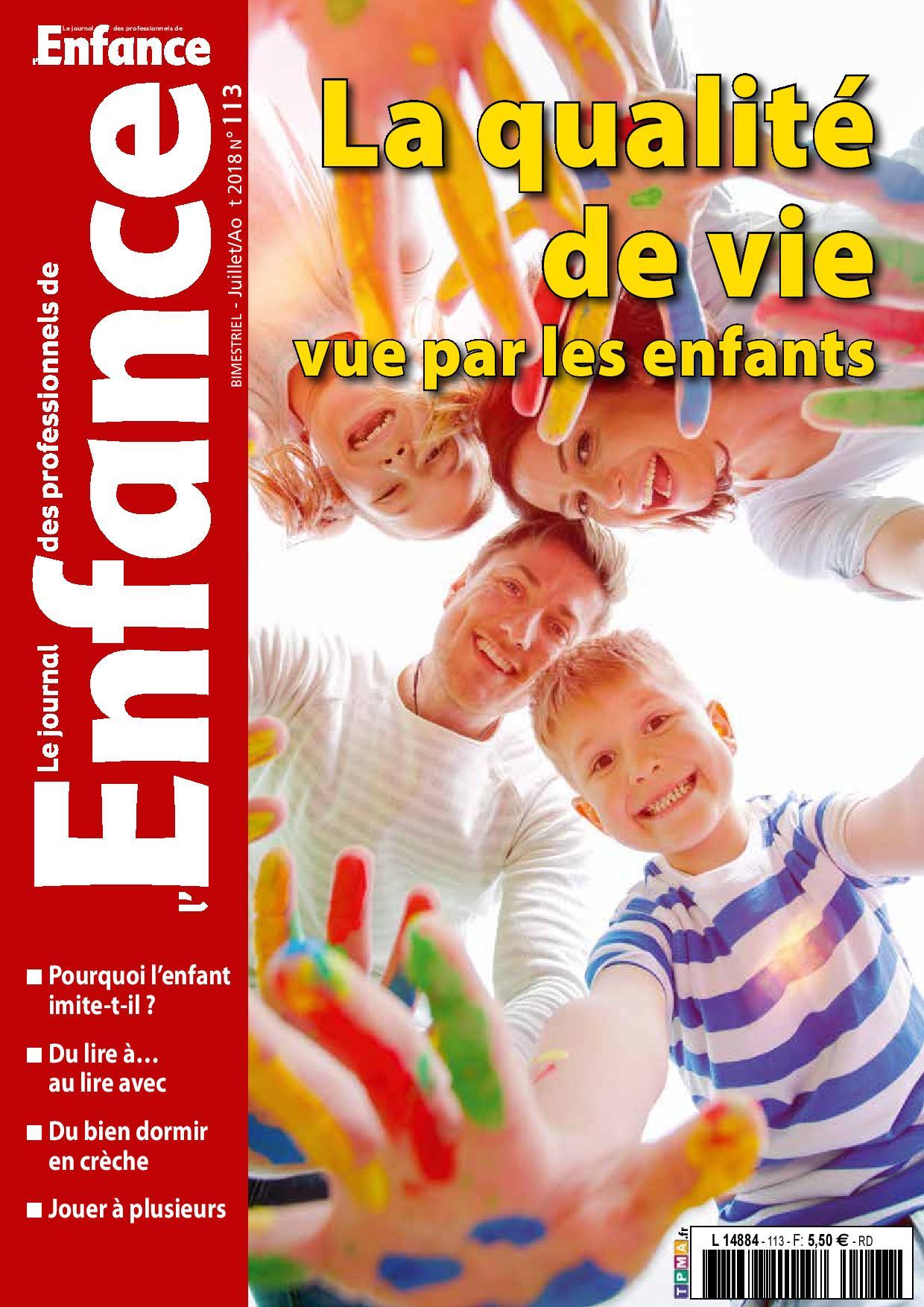 journal des professionnels de l u0026 39 enfance